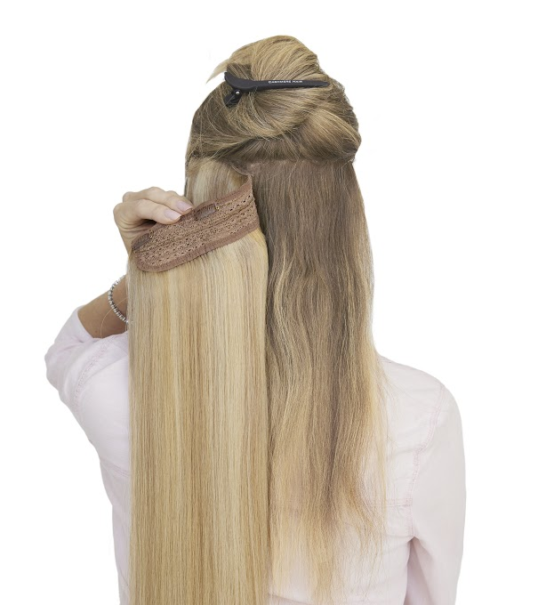 Clipping In Hair Extensions Wrap Ponytails Cashmere Hair