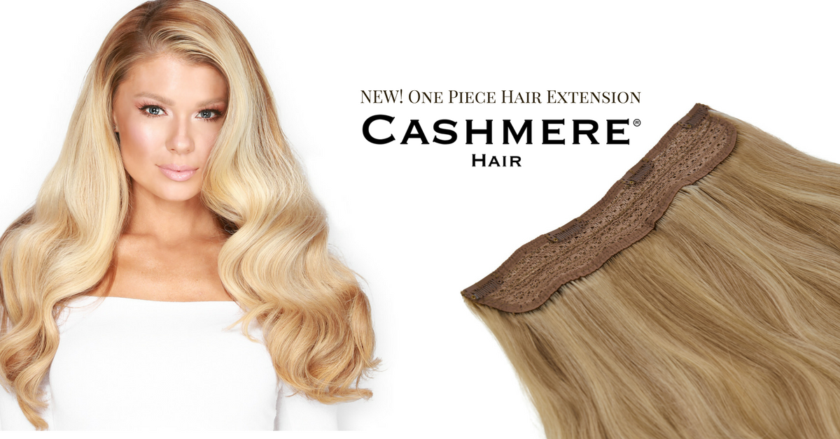 New One Piece Hair Extension Cashmere Hair