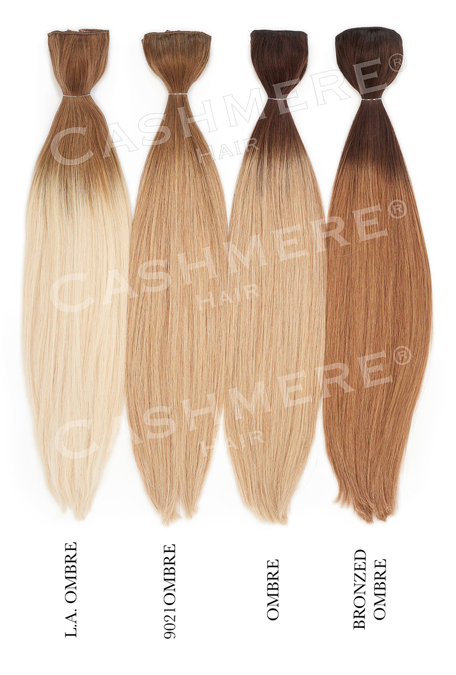 Cashmere Hair Extensions Color Chart