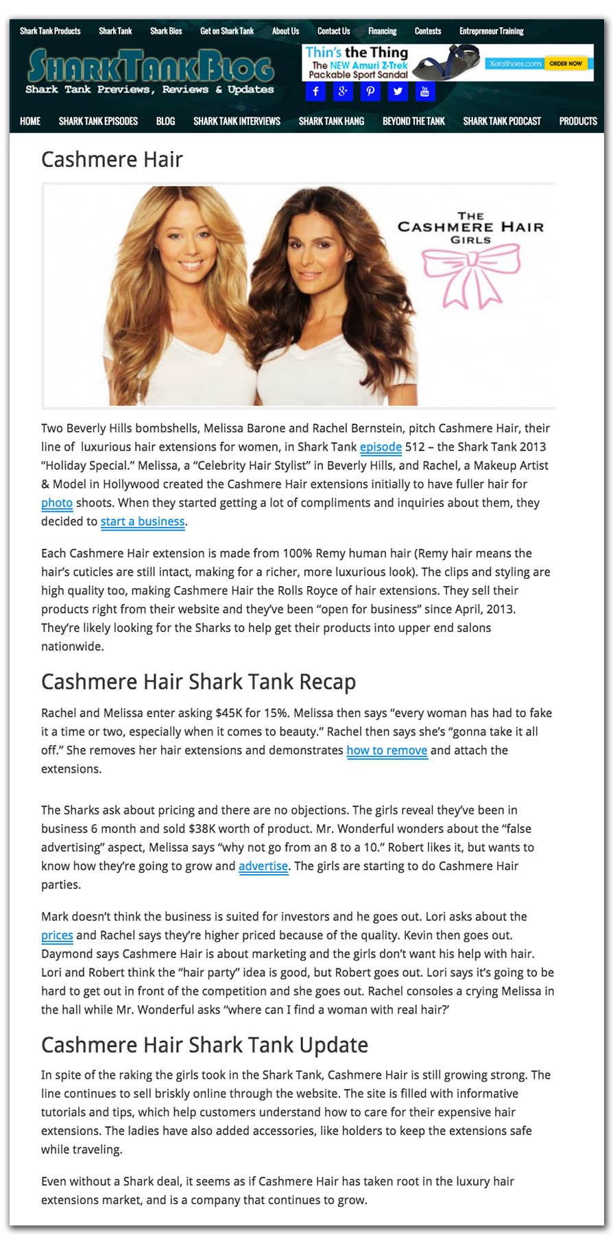 Cashmere hair extensions press and news sharktank blogg pmusecretfo Images