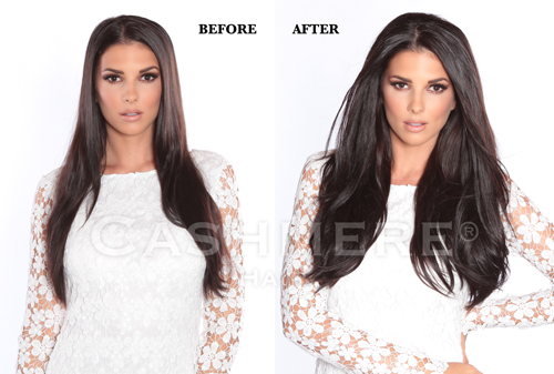 Remy clip in hair extensions before after pictures cashmere sona before after frontwebg pmusecretfo Choice Image